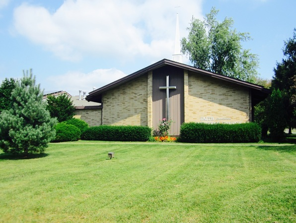 Faith Church front lawn